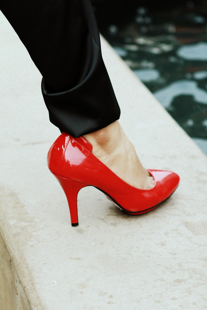 Tresmode Red Pumps
