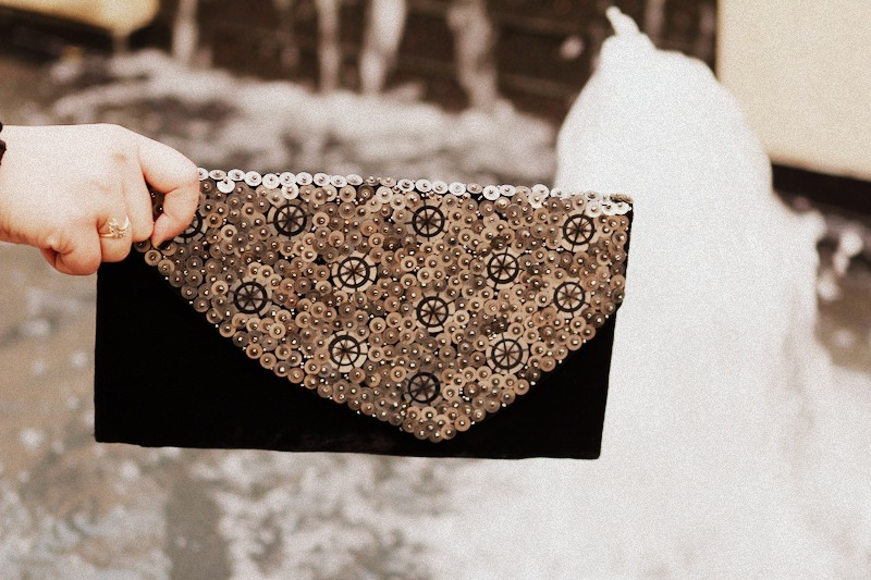 French Connection Amorous Clutch
