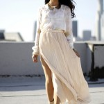 cream-pleated-skirt