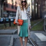 green-pleated-skirt