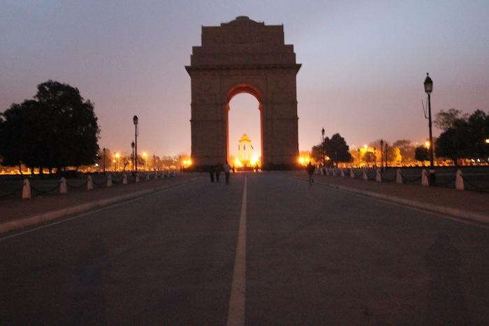 india gate night