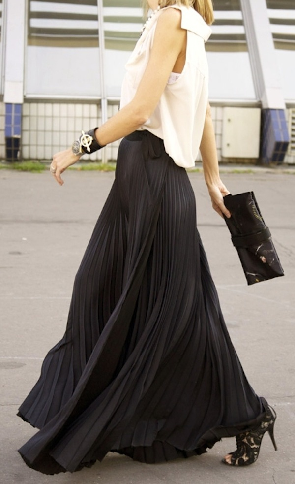 Skirts  Pleated pencil denim maxi and midi skirts  Oasis