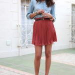rose-brown-pleated-skirt