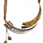 eina aluwalia kirpan necklace