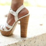 nine west wood heels