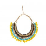 zara chain cord necklace