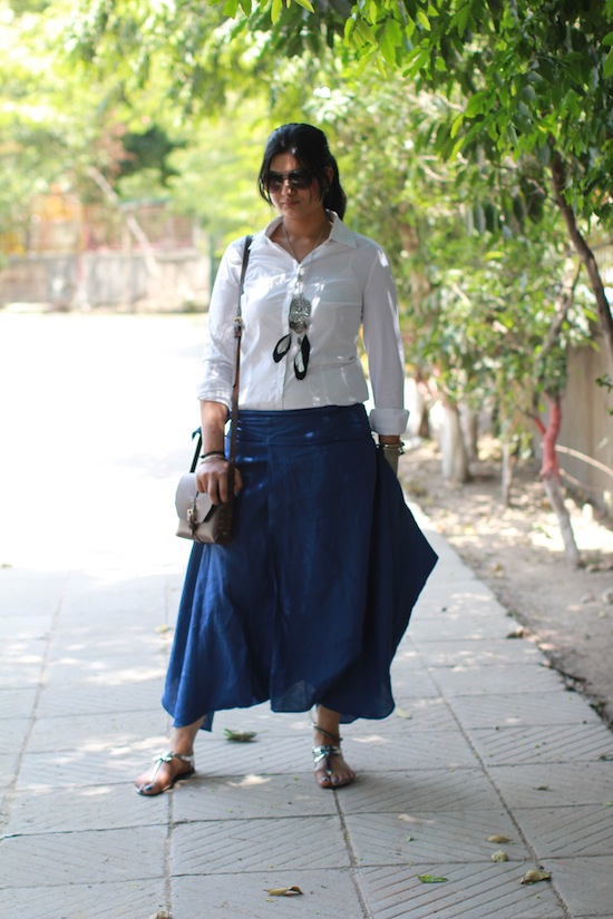dhoti pants outfit
