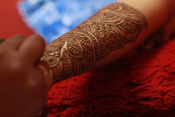 indian bridal mehandi