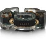 marni horn semi precious stone cuff