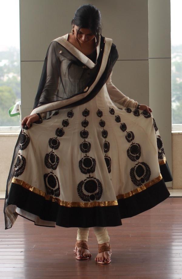 radhika and rahul white suit