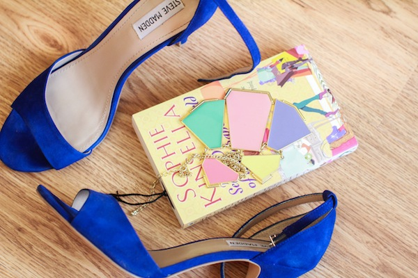 steve madden cobalt blue suede heels