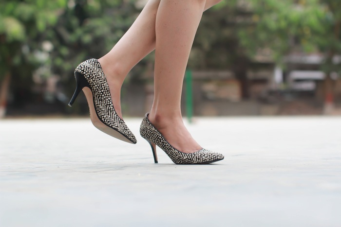 zara leopard print shoes