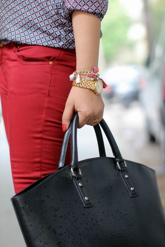 zara black shopper bag