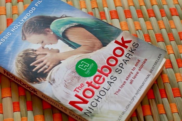 nicholas sparks notebook
