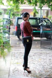 zara black skinny jeans
