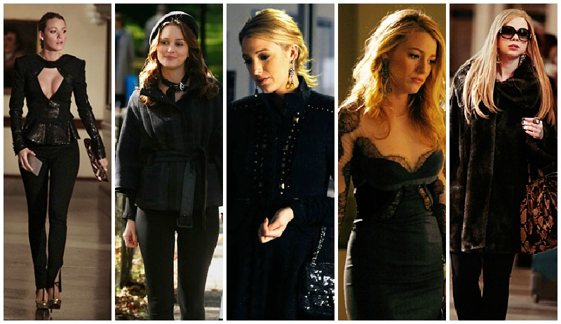 Gossip girl all black