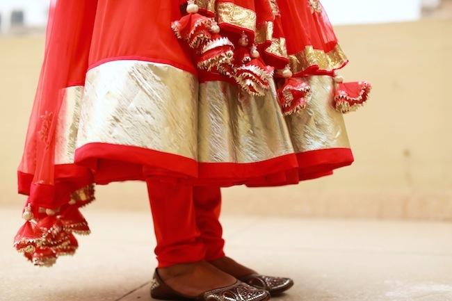 karwachauth dress