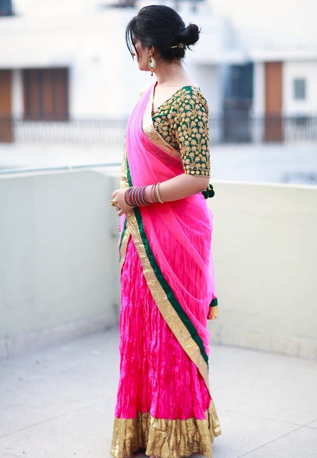 masaba pink lehenga