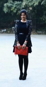 Black sequin jacket zara india fashion