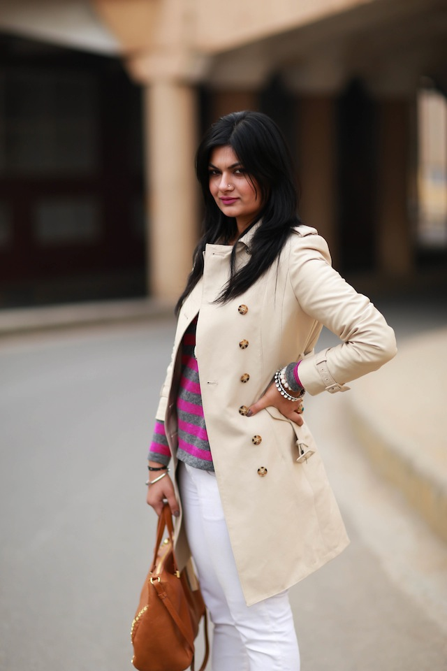 trench coat fashion