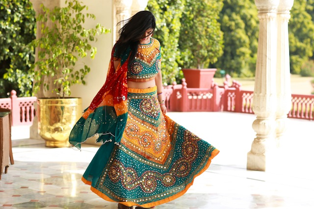 traditional rajastani outfit - The Traditional Wedding Vows