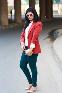 zara green denims fashion