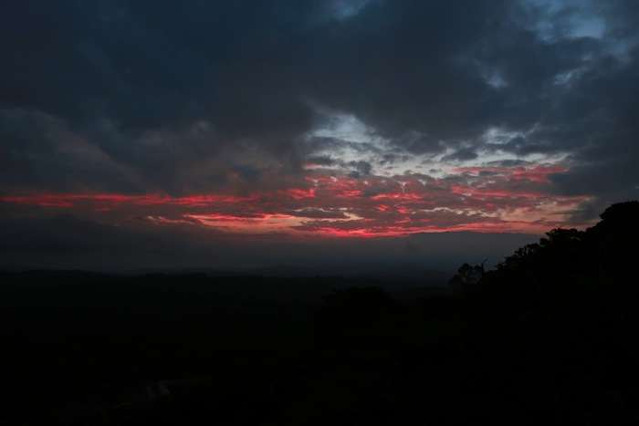 coorg sunrise