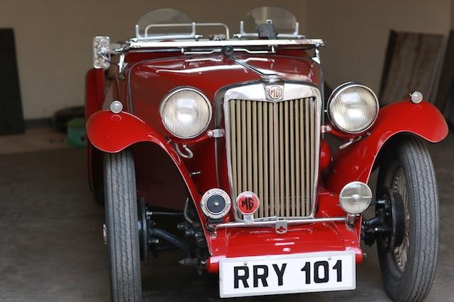 Morris Garages 1946 sports car