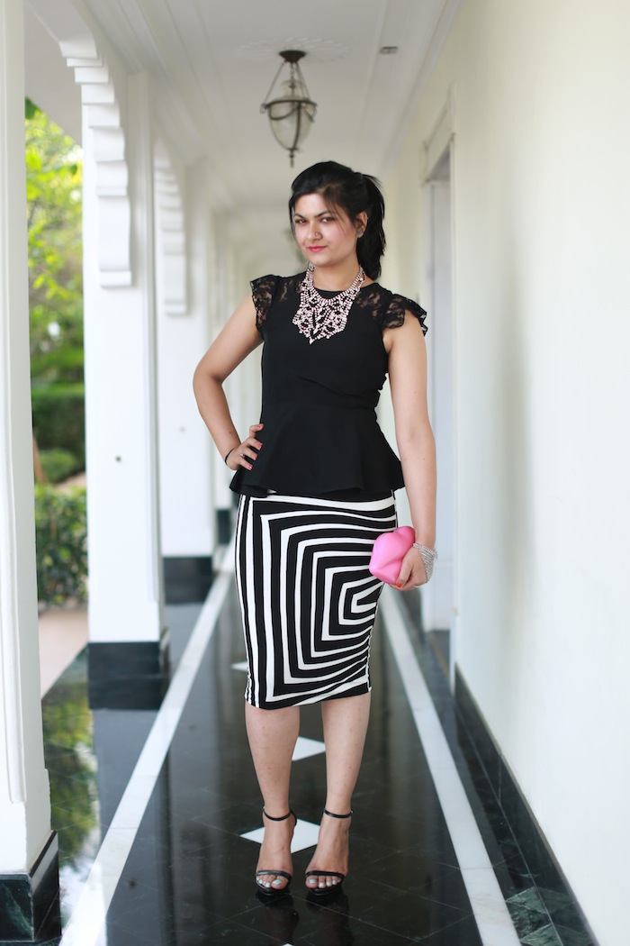 white-striped-skirt