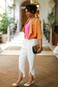 zara sarong trousers
