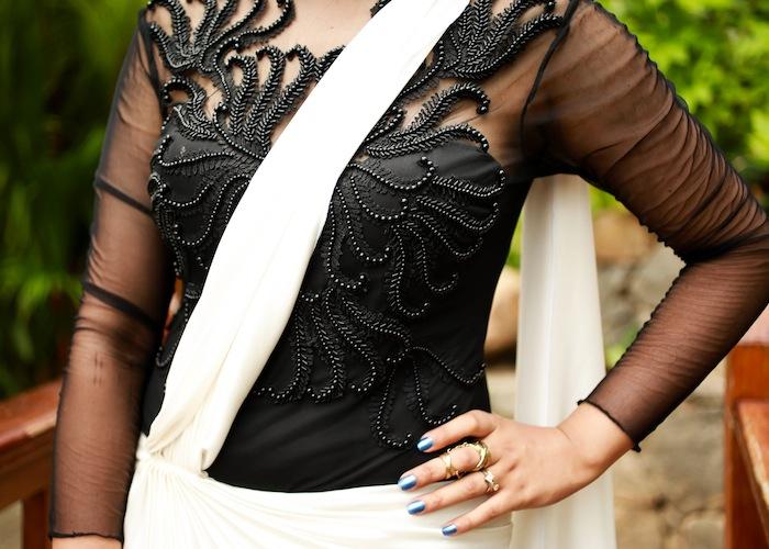 amit agarwal saree blouse
