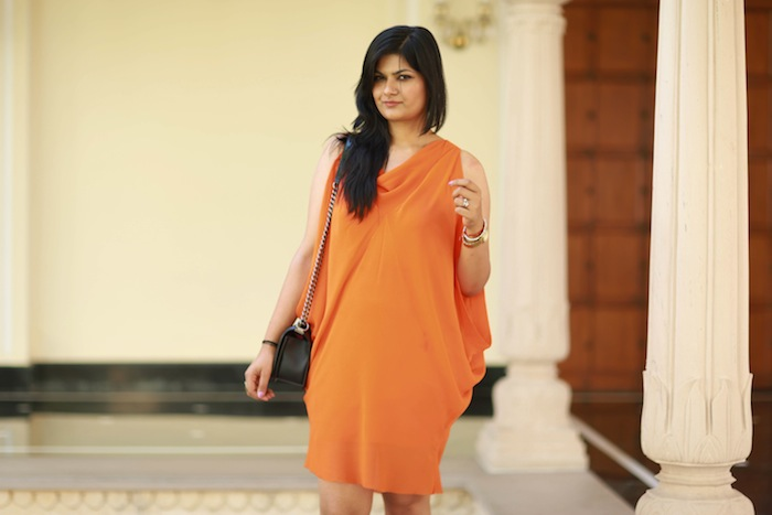 orange willow dress