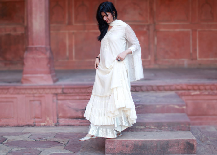 skirt with kurti