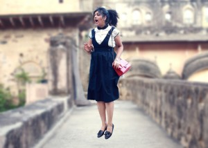 dungaree dress fashion