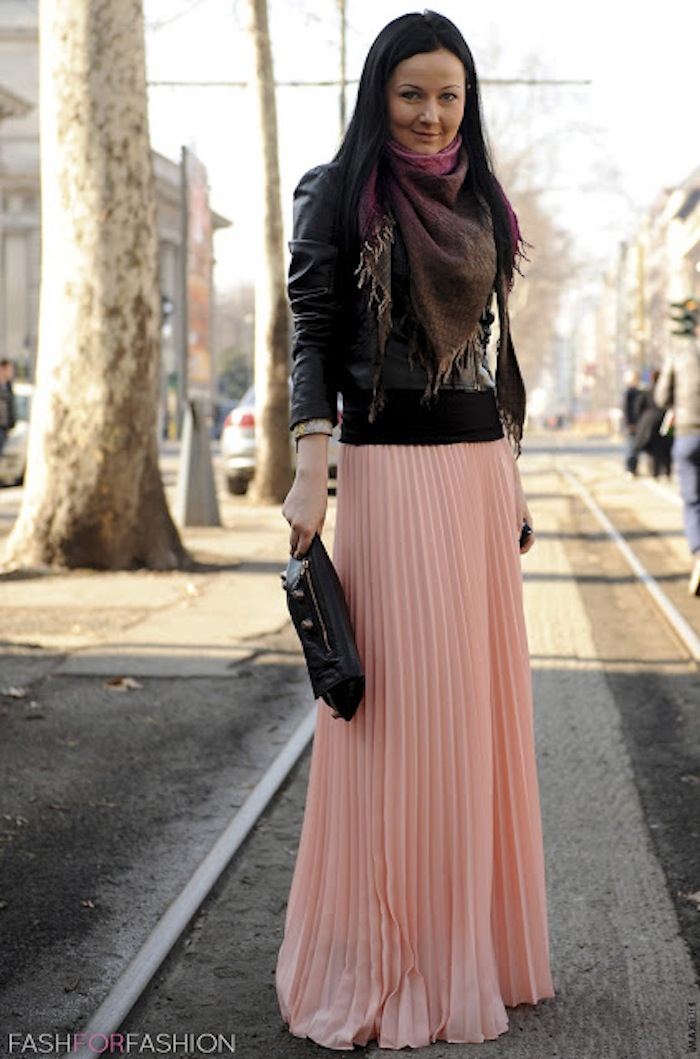 30 ways to style maxi skirtsfaux pas