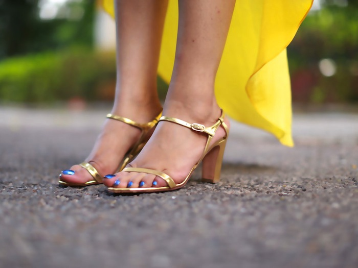 chanel-gold-sandals