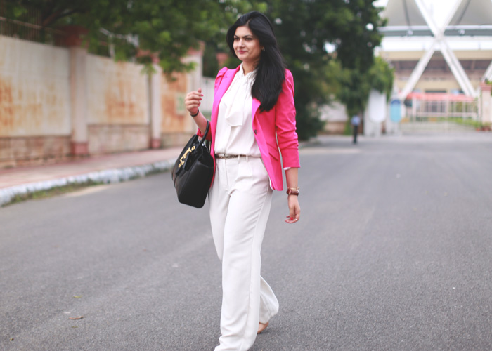 pant suit street style