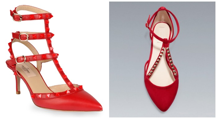 valentino red shoes