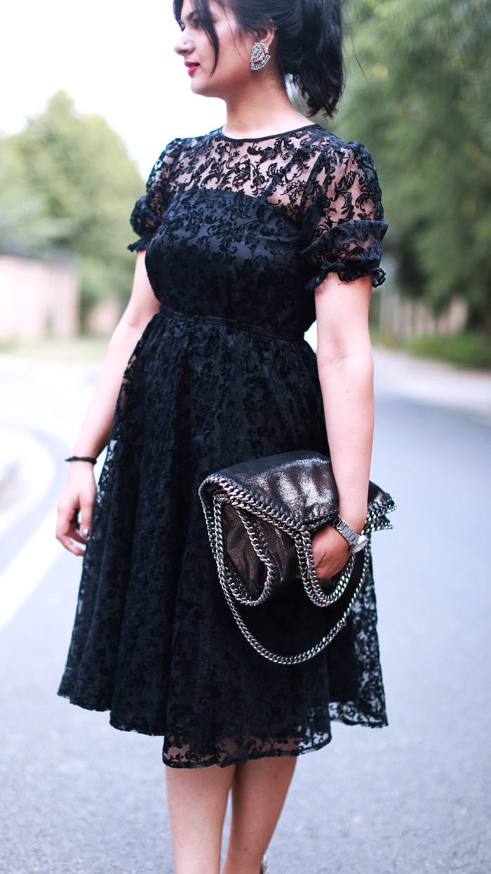 50s midi dress