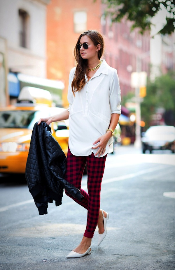 24 Ways to Style PlaidFaux Pas