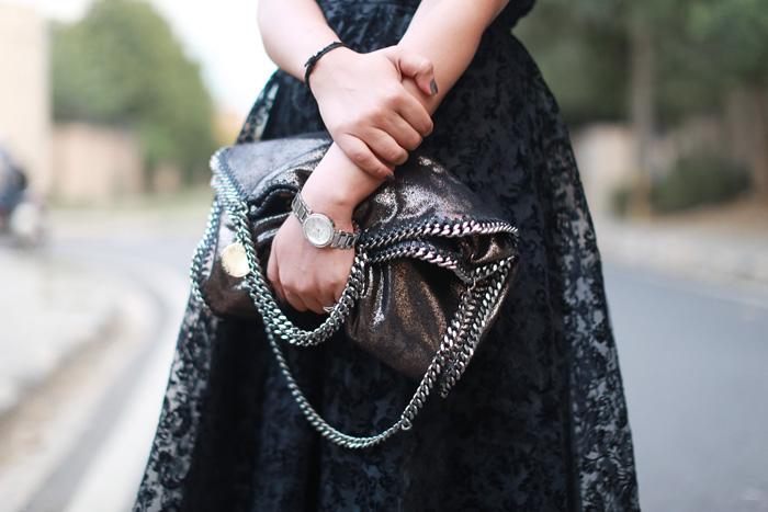 stella mccartney metallic bag