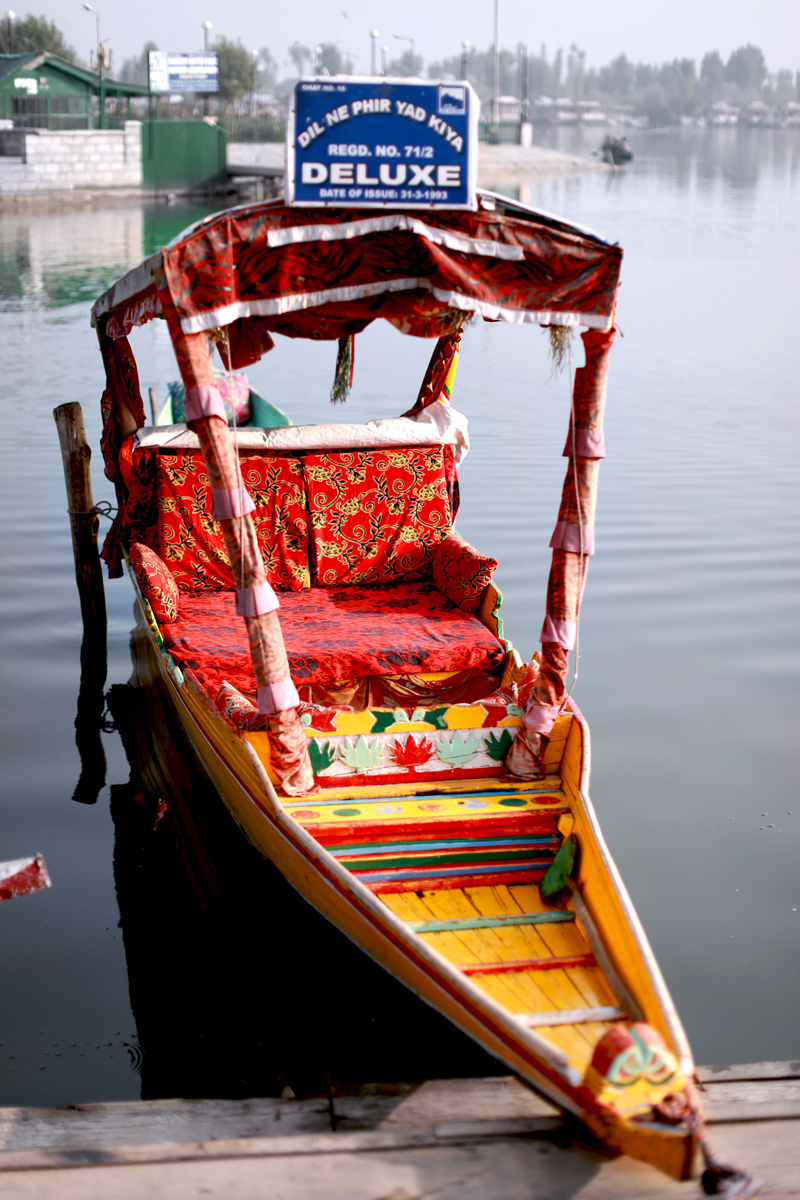 'Dil Ne Phir Yaad Kiya' was shot on this shikara!