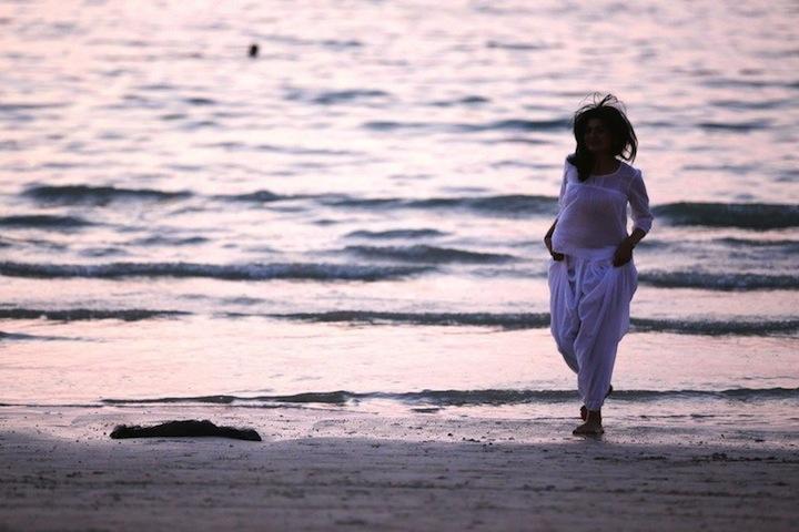 anokhi white outfit