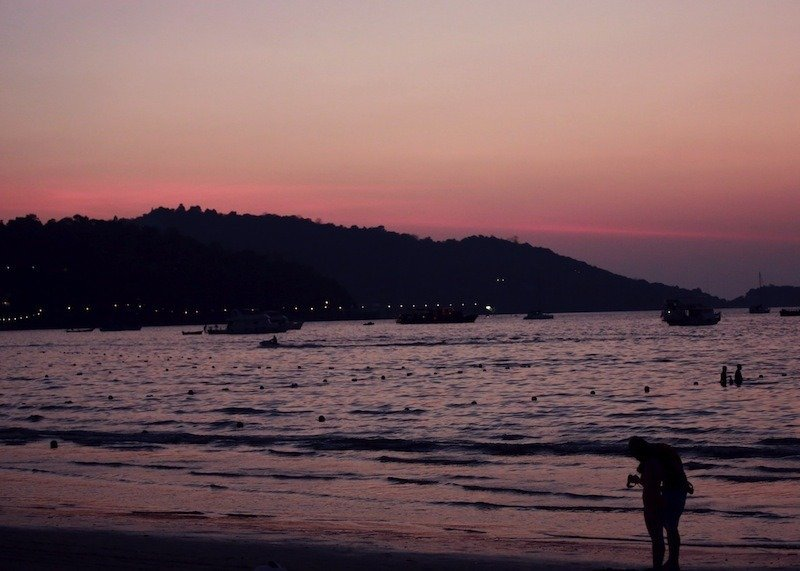 sunset-kata-beach-phuket
