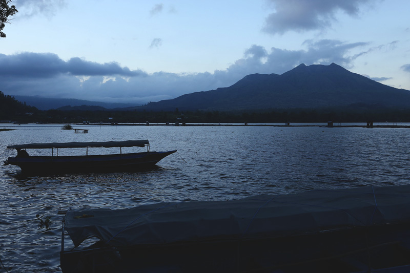 The Lake Batur was the best wrap up we could have asked for in Bali