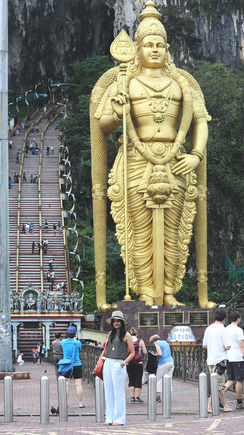 The Murugan Statue