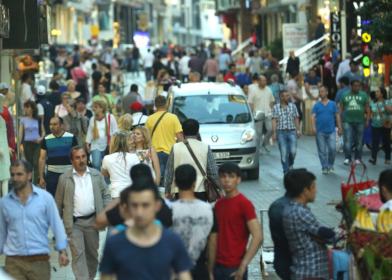 A busy istanbul evening!