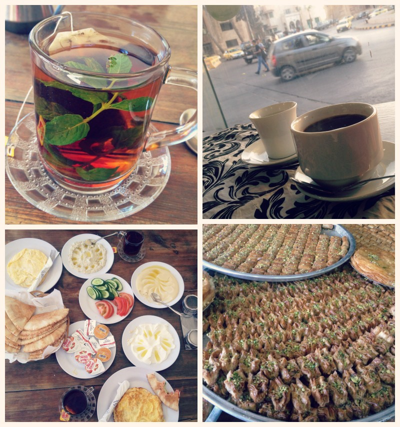 mint tea, sipping turkish coffee while watching the world go, the addictive food, baklava