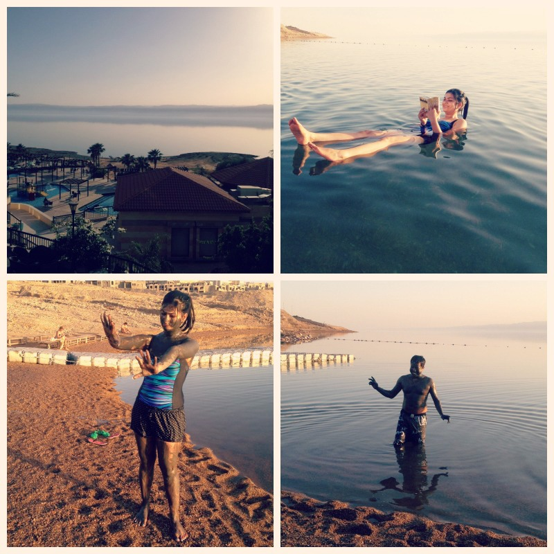 The dead sea - EPIC! First reading book on the sea, the playing with the dead sea mud!