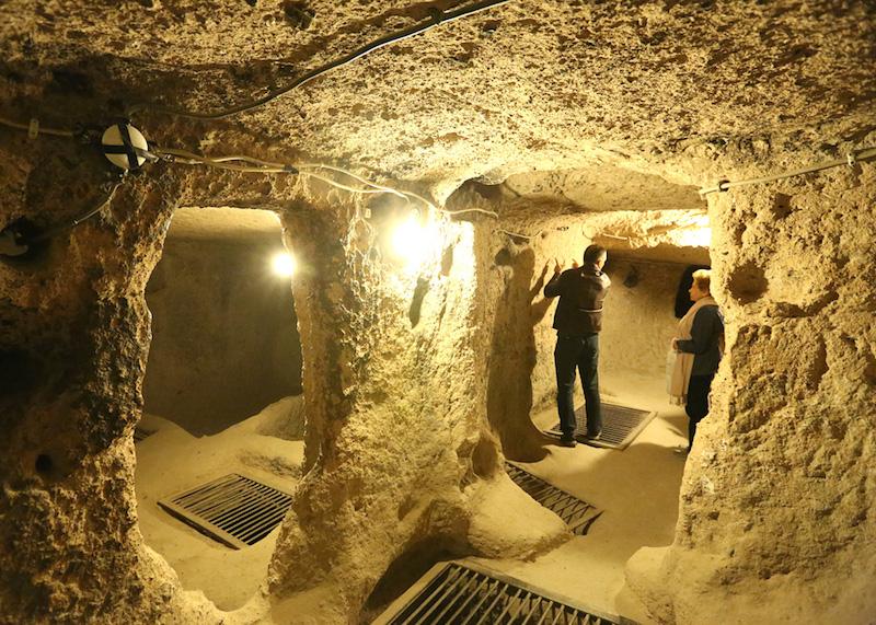 kaimakli underground-city
